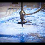 3d 5 eksenli su jeti cnc makinesi-su jeti kesim paslanmaz çelik-yüksek basınçlı su jetleri