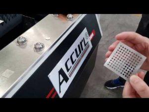 ACCURL 700W IPG Metal Sac CNC için Lazer Kesim Makinesi Lazer Kesim   ACCURL® Akıllı Lazer