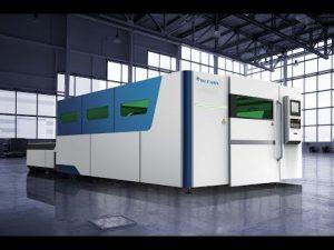 ACCURL IPG 4000 W Fiber Lazer Kesim Makinesi 2000x6000mm Fiyat 4kw Lazer Boru Tüp Profil Kesme