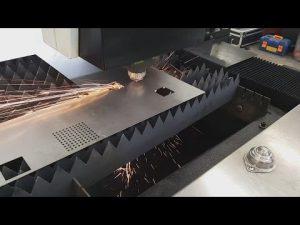 Nasıl Çin Accurl 700w 1000w Paslanmaz Çelik için Fiber Sac CNC Lazer Kesim Makinesi