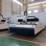 Çin'de yapılan 500 w 1kw 2kw 3kw cnc sac metal fiber lazer kesim makinesi fiyat