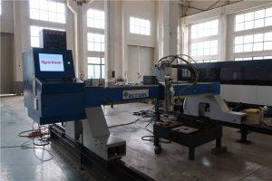 Tüm ihracat ürünleri servo motor akıllı plazma portal cnc kesme makinası