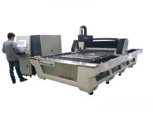 Satılık 500w cnc metal fiber lazer kesim makinesi satın almak