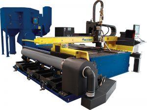 Masa tipi cnc plazma kesme makinası için metal levha