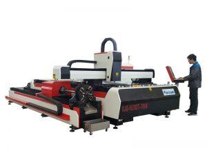 İnce metal lazer kesim makinesi fiber 500 w 1000 w 2000 w için 0.5-16mm kalınlığı kesme makinası