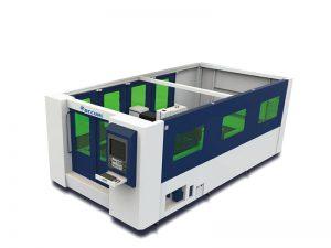 Fiber lazer metal kesme makinası, çelik kesim lazer makinası tci kesme masaları ile